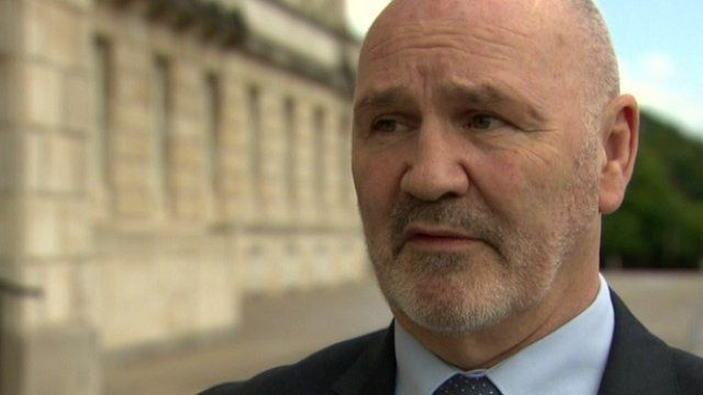 "Sinn Féin's Alex Maskey said officers who watched flags being put up ""brought themselves into disrepute."""