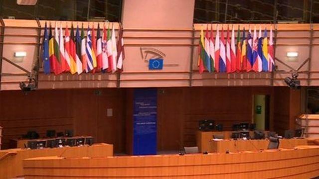 Inside the European Parliament