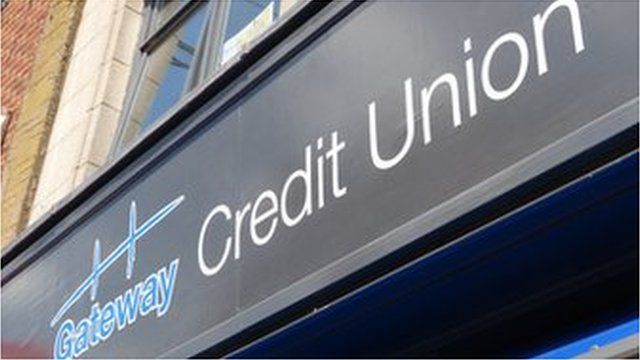credit union sign