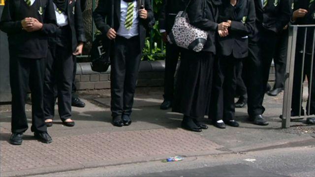 Anonymous school children