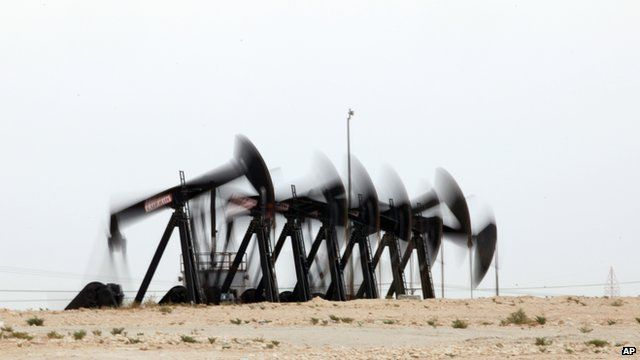 Oil extraction in Bahrain, Iraq