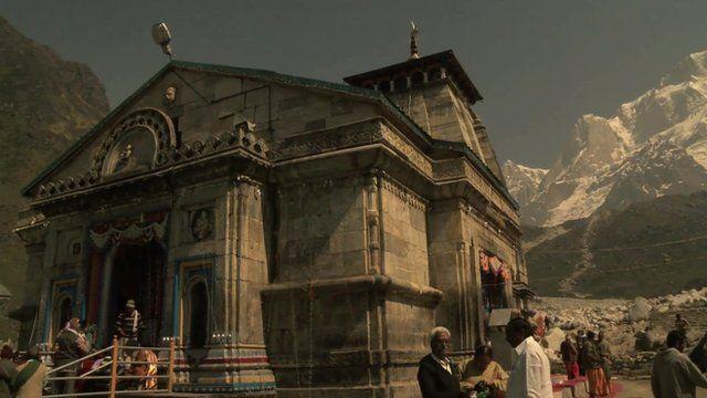 The temple of Kedarnath
