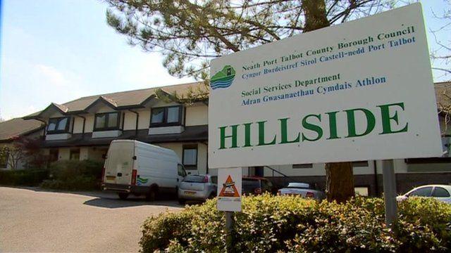 Hillside Secure Children's Home in Neath