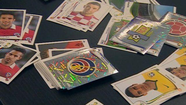 Panini football stickers