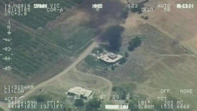 An air strike