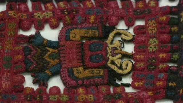 Ancient textile returned to Peru
