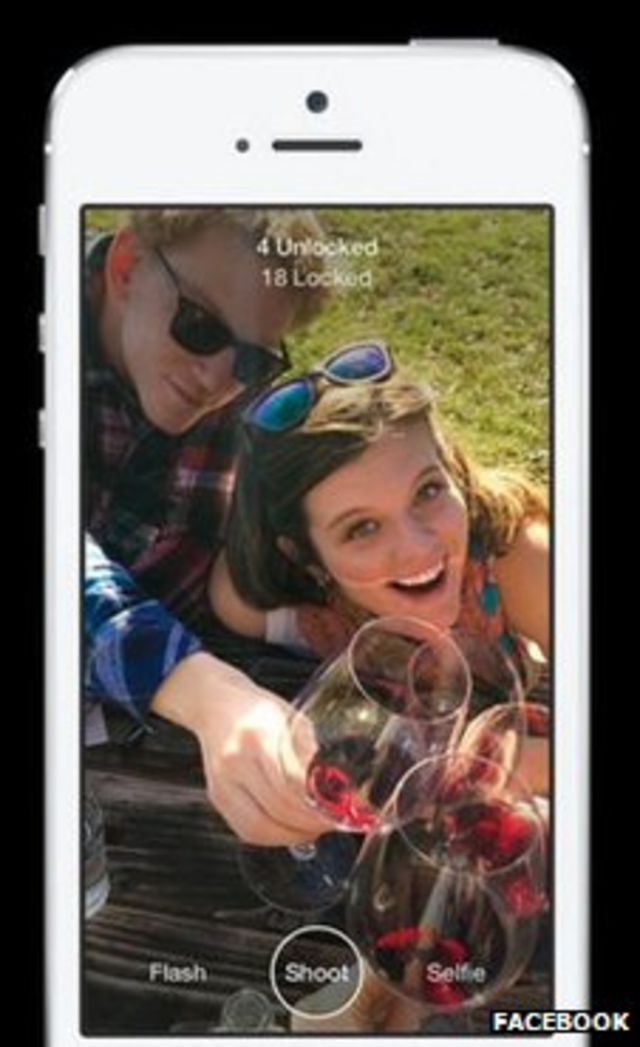 Facebook launches new image messaging app Slingshot