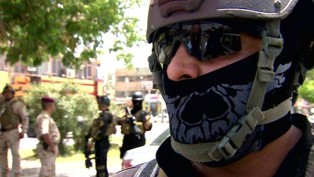Member of Iraq's special forces