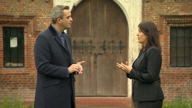 Giles Dilnot and Lisa Nandy MP