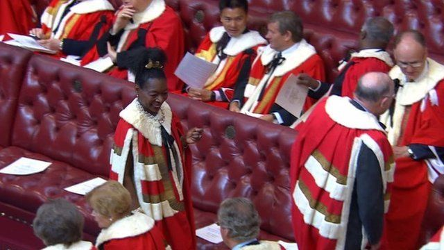 Inside House of Lords