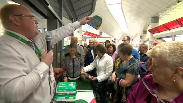Tyne and Wear Metro auctioneer