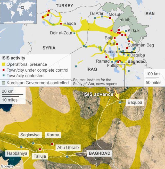 Iraq crisis: Shia militia show of force raises tensions