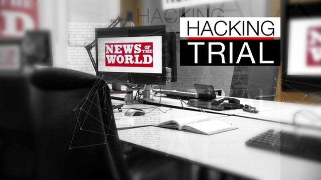 Mock-up shows News of the World newsroom