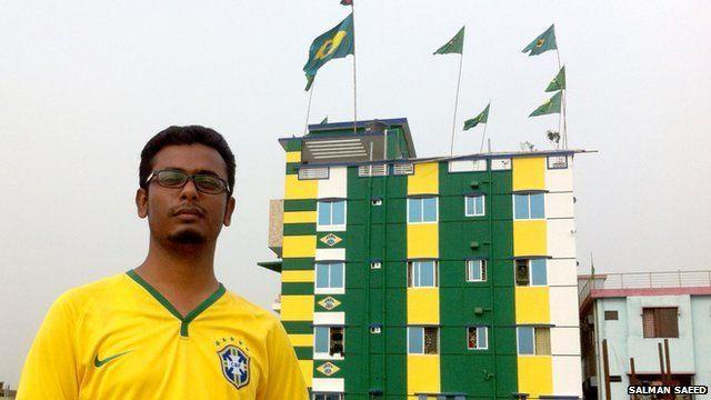 World Cup fever grips one unlikely Brazil fan