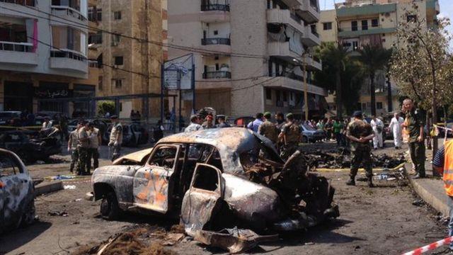 Beirut suicide car bomb: Lebanon's capital shaken