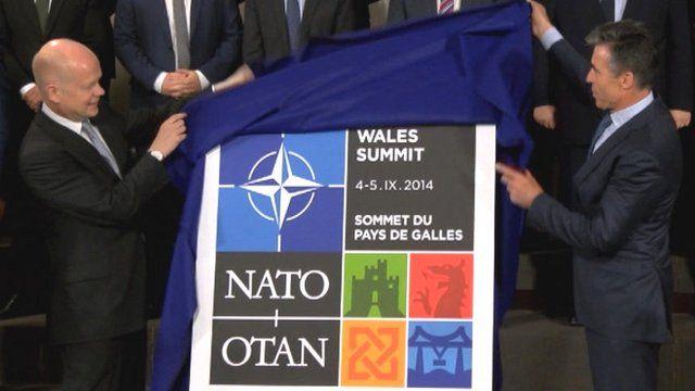Nato summit logo unveiling