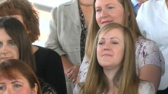 Women at launch