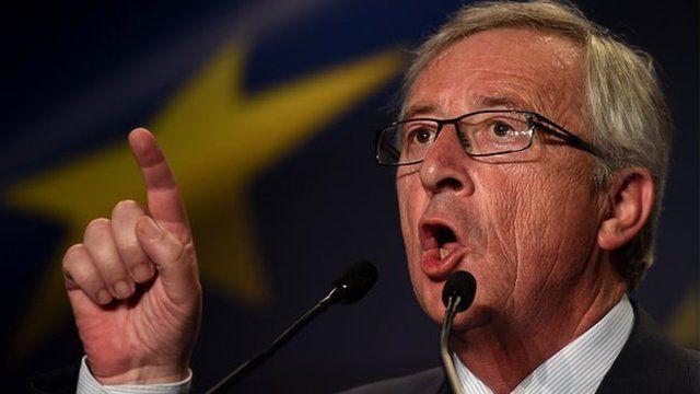Jean-Claude Juncker - file pic