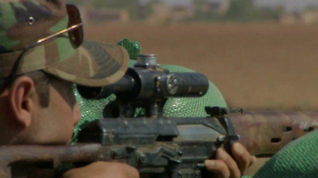 Kurdish soldier