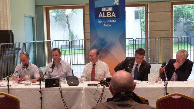 BBC Radio Scotland referendum debate in Stornoway