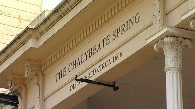 Chalybeate Spring sign