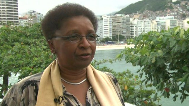 Brazil's Minister for Racial Equality Luiza Bairros