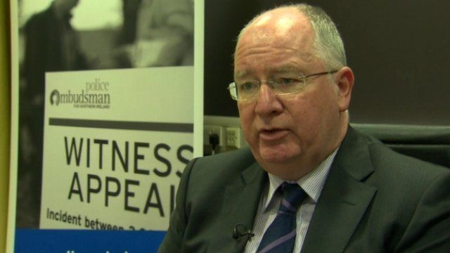 "Police Ombudsman Michael Maguire said the original investigation into the murder was ""very poor"""