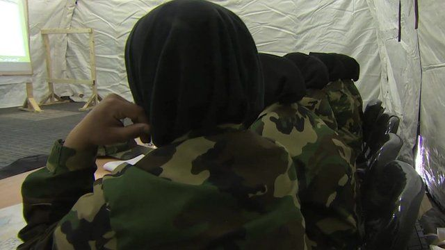 Female officer cadets