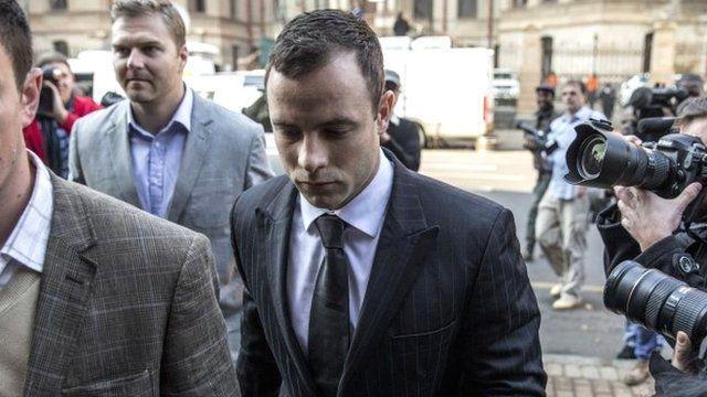 Oscar Pistorius arrives at court on 30 June 2014