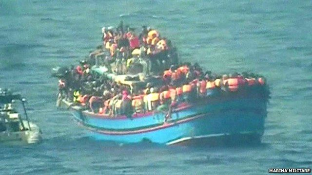 Italy's navy finds 30 bodies in migrant boat