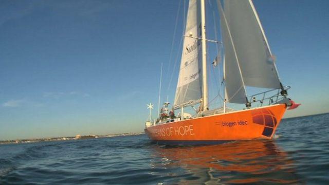 Oceans of Hope yacht