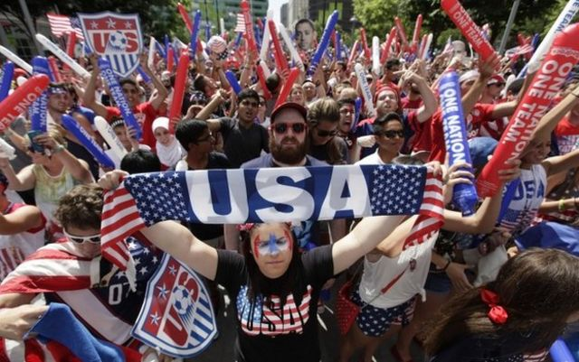 World Cup 2014: Fans watch valiant US World Cup exit