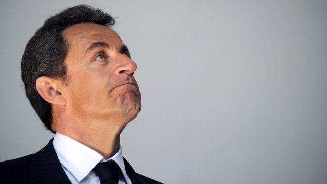 Nicolas Sarkozy in 2010