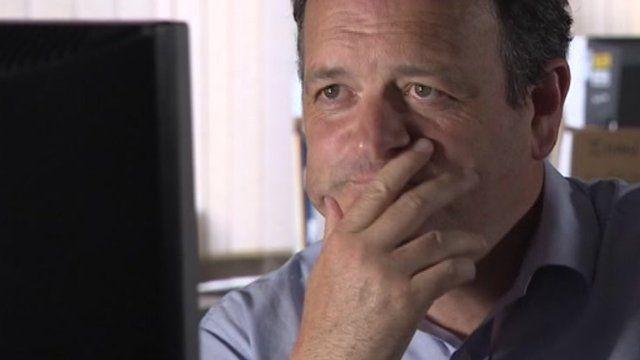 Week In Week Out presenter Tim Rogers