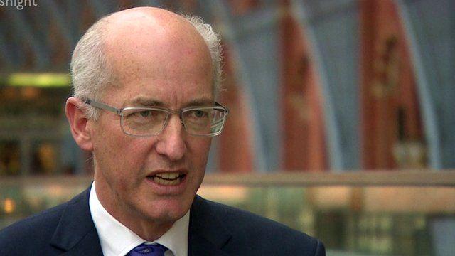 Sir David Higgins, chairman of HS2