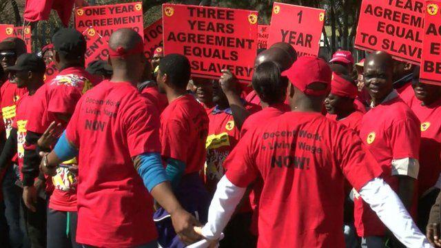 Metal workers' strike
