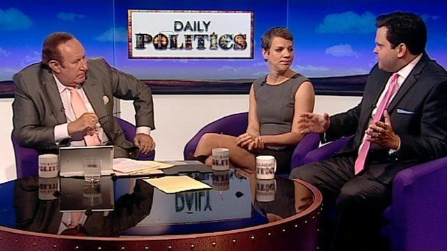 Andrew Neil, Francesca Martinez and Harry Cole