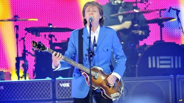 Sir Paul McCartney resumes tour after illness