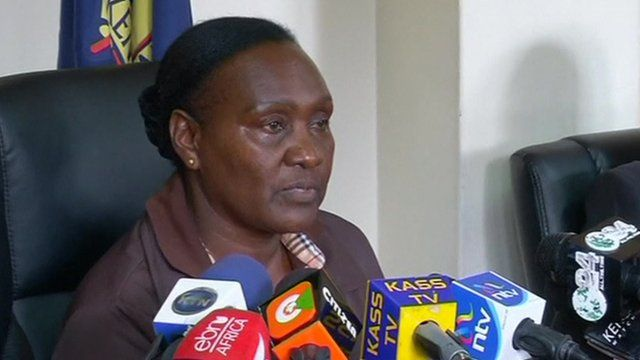 Kenyan Police's deputy inspector general Grace Kaindi