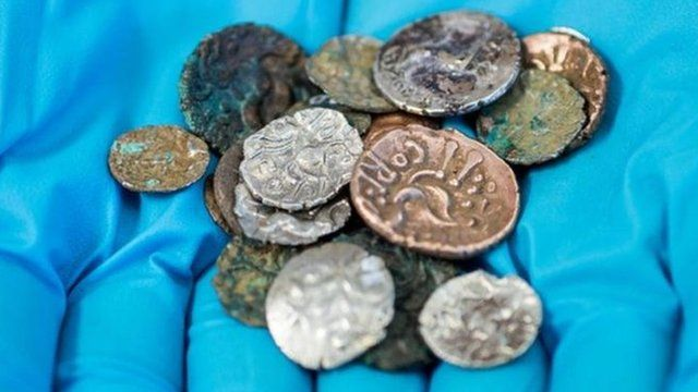 Roman and Late Iron Age coins