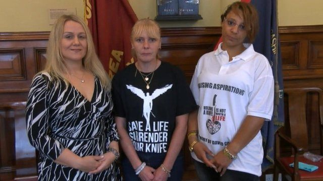 Alison Cope, Lisa McNeill and Lisa Minott (left to right)