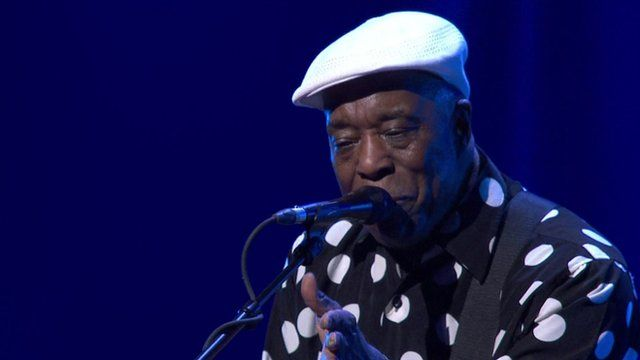 Buddy Guy performing at Montreux Jazz Festival