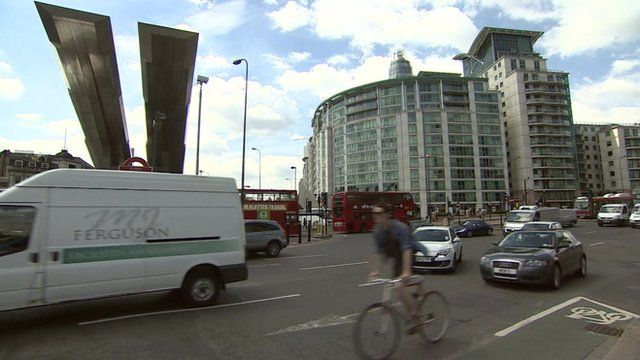 The Vauxhall gyratory system