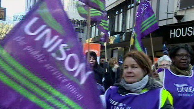Unison strike 2011