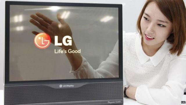 Giant rollable TVs on the horizon, says LG