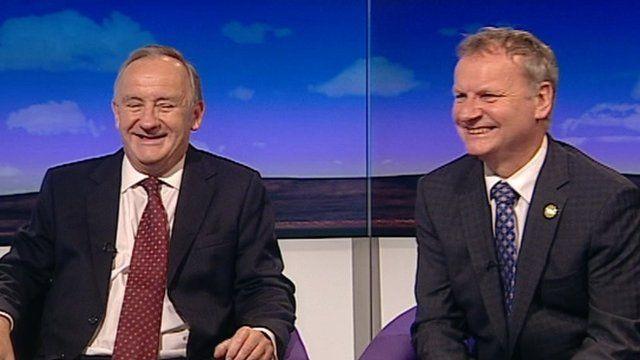 Laurence Robertson and Pete Wishart