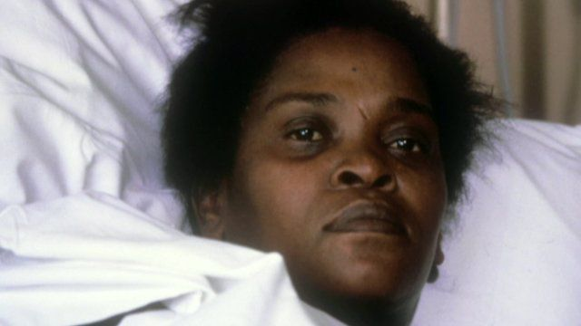 Cherry Groce in hospital