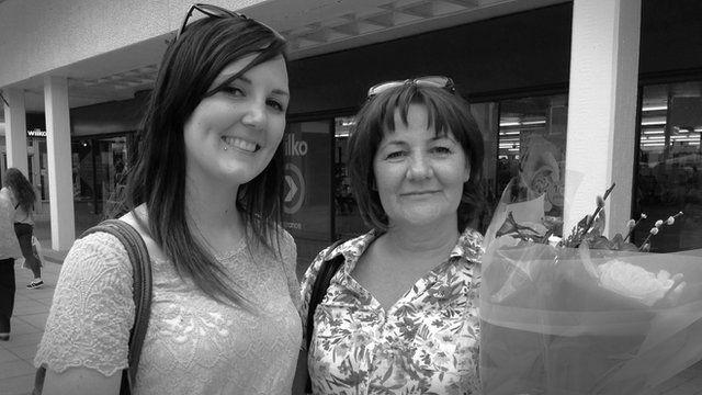 Katie Walker, 24, with mother Catherine Walker, 54