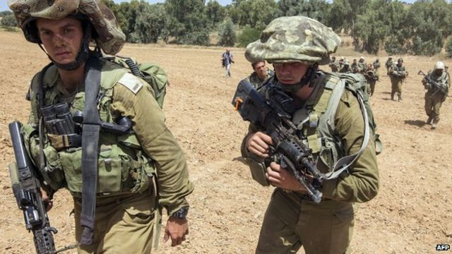 Israel and militants trade fire as Gaza toll rises