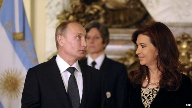 Putin signs Argentina nuclear deals on Latin America tour